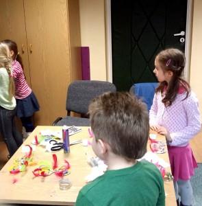 Praca przedszkolaków